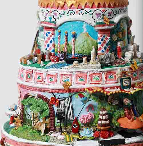Alex's Russian Life Cake - detail